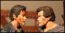 NECA Evil Dead 2 vs Army of Darkness Ash