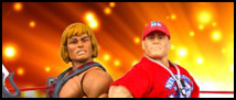 SDCC 2012: WWE – MOTUC Cross Promotion