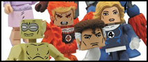 Fantastic Four Highlight Marvel Minimates Series 48