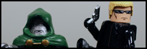 Marvel vs Capcom 3 Minimates – Dr. Doom vs Wesker Review
