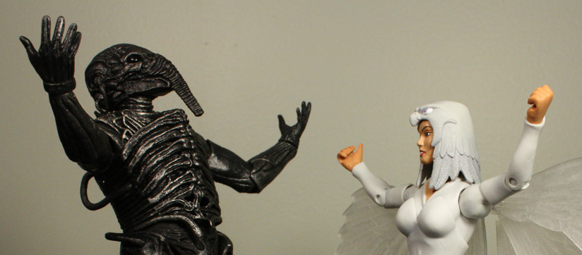 NECA Prometheus Chair Suit Engineer Review + Gallery