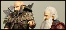 The Hobbit 3 3/4″ Balin and Dwalin Review + Gallery