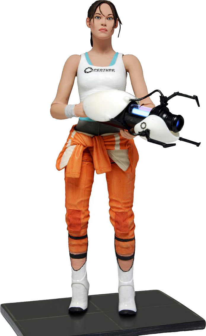 NECA News: Portal's Chell Joins the Party! « Preternia