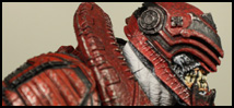 NECA TRU Exclusive Gears of War 3 Theron Sentinel Review