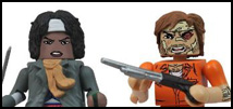 Amazon Exclusive Walking Dead Minimates Available Now!
