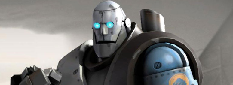 3A Reveals TF2 Robot Heavy from Mann vs Machine