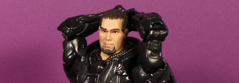 Mattel Man of Steel Movie Masters Kryptonian Armor Zod Review