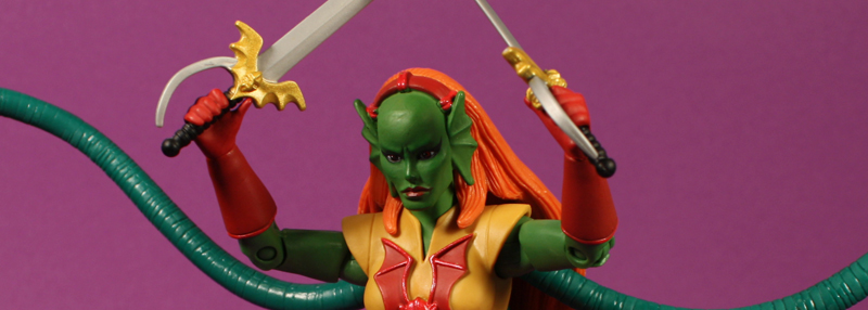 Mattel MOTUC Octavia Review