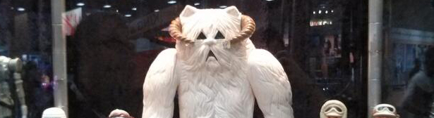SDCC 2013: Gentle Giant Jumbo Kenner Star Wars Wampa