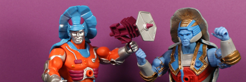 Mattel MOTUC Rokkon and Stonedar Review