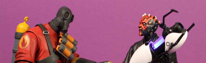 Hasbro Star Wars Black Six Inch Darth Maul Review