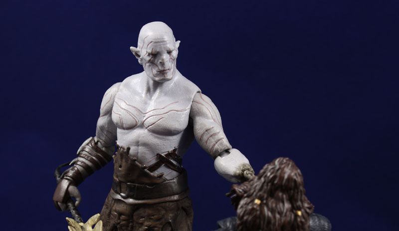 Bridge Direct The Hobbit Desolation of Smaug 6 Inch Azog Review