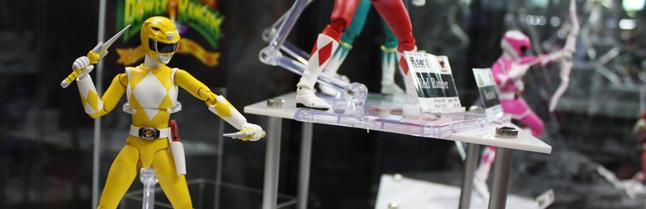 NYCC 2013: S.H. Figuarts Power Rangers