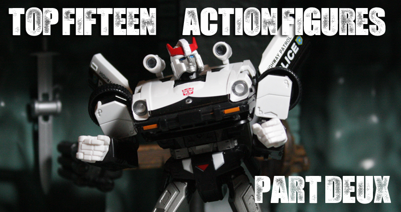 The Top Fifteen Action Figures of 2013 Part 2