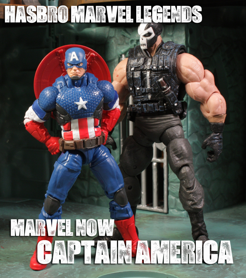 Hasbro Marvel Legends Marvel Now! Captain America Review