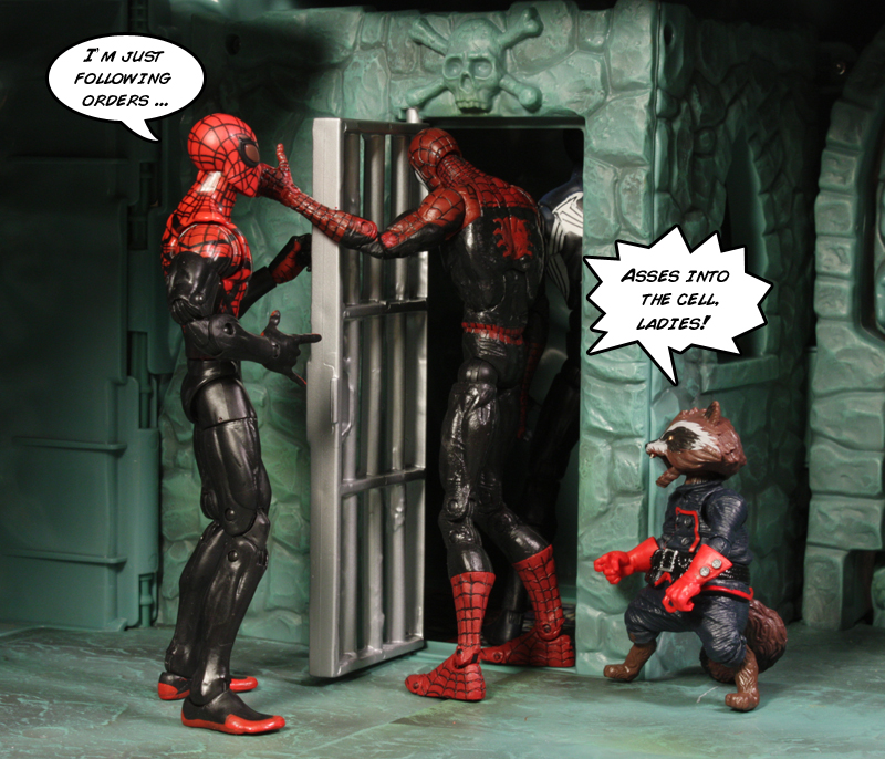 Minimates Spider Man Review Superior Spider Man Review
