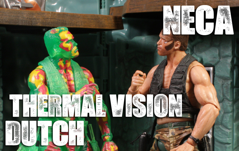 NECA Predator Thermal Vision Dutch Review