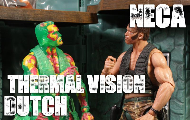 NECA Predator Thermal Vision Dutch Review