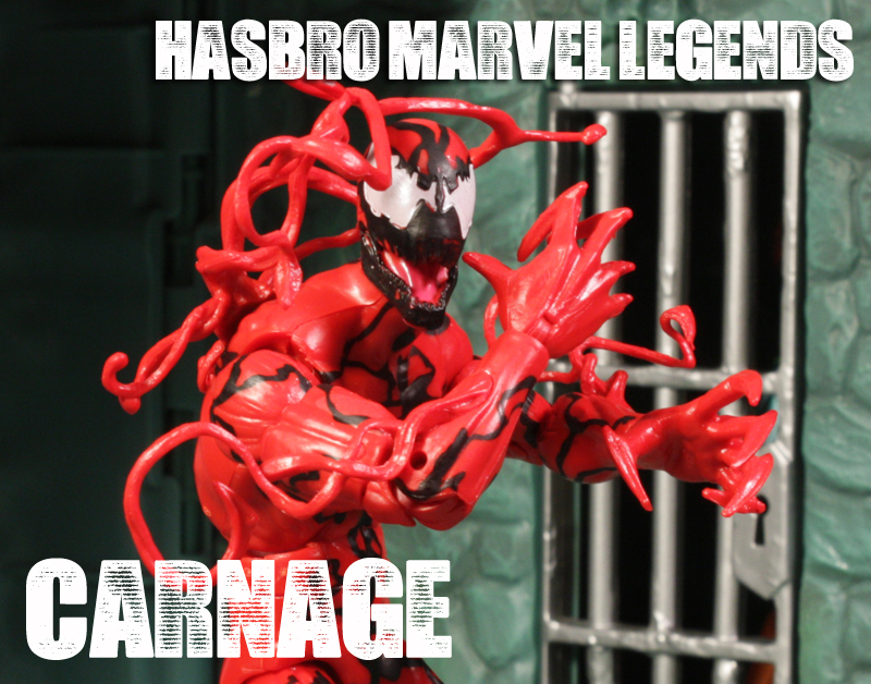 Hasbro Marvel Legends Infinite Series Carnage Review