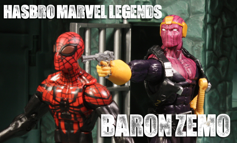Hasbro Marvel Legends Baron Zemo Review