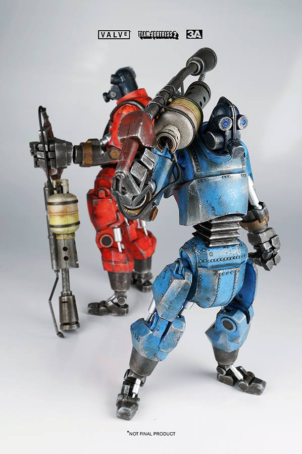 An updated look at the ThreeA TF2 Robot Pyro
