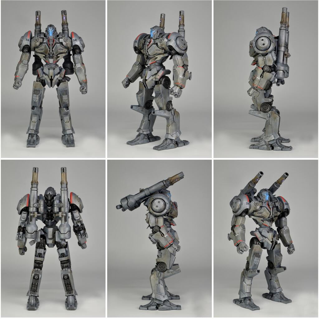 NECA: First Look at Pacific Rim S3 Coyote Tango