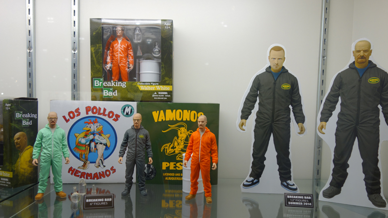 Toy Fair 2014: Mezco Sons of Anarchy and Breaking Bad