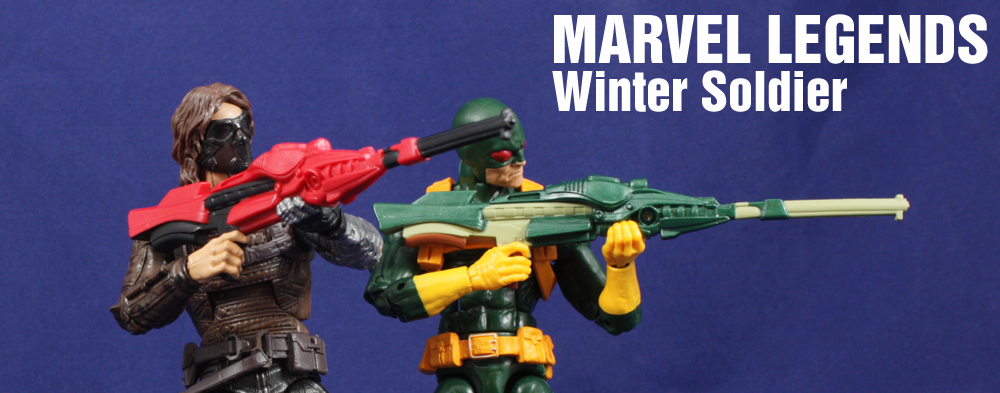 Hasbro Marvel Legends Infinite Movie Winter Soldier Review
