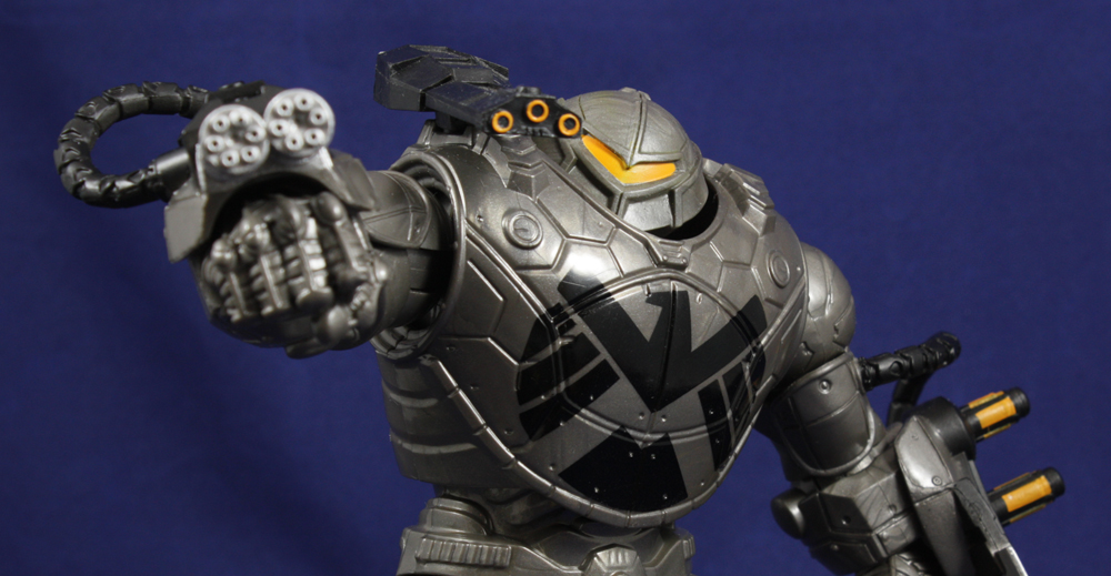 Hasbro Marvel Legends Mandroid Build-A-Figure Review