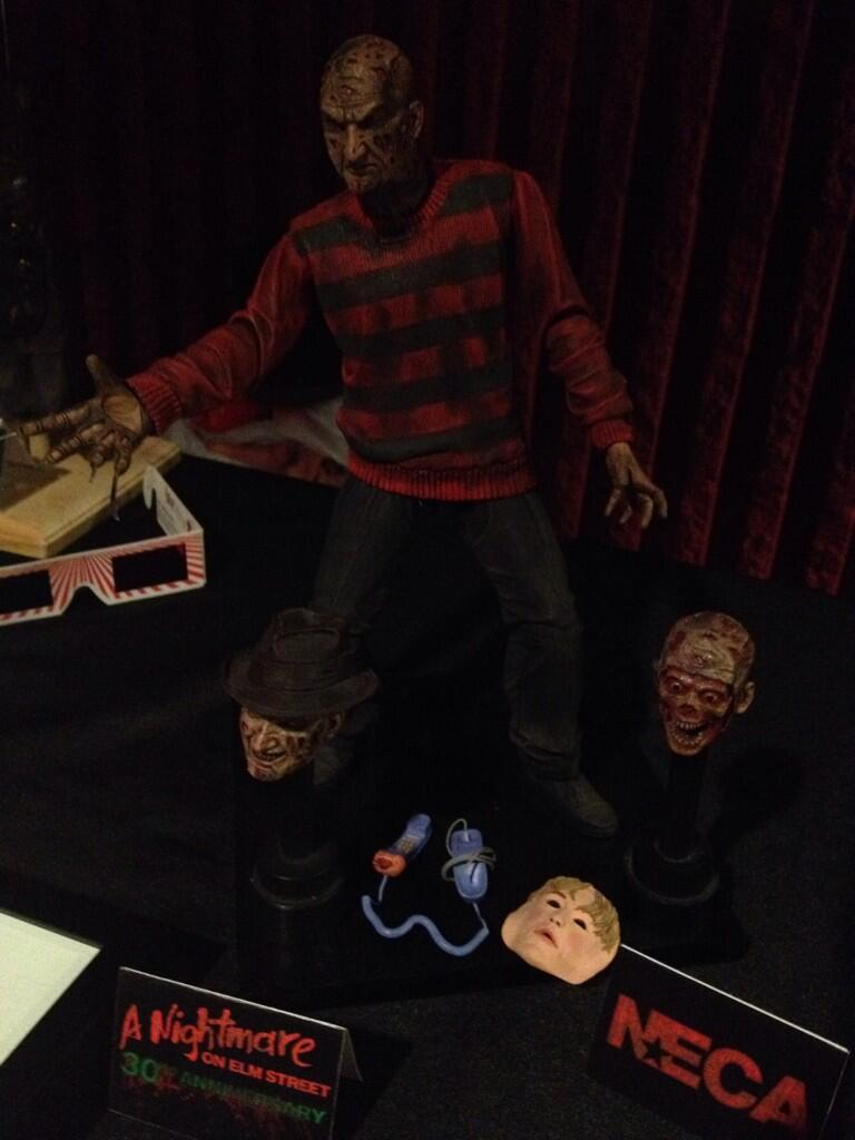 NECA: 30th Anniversary Ultimate Freddy Krueger Revealed!