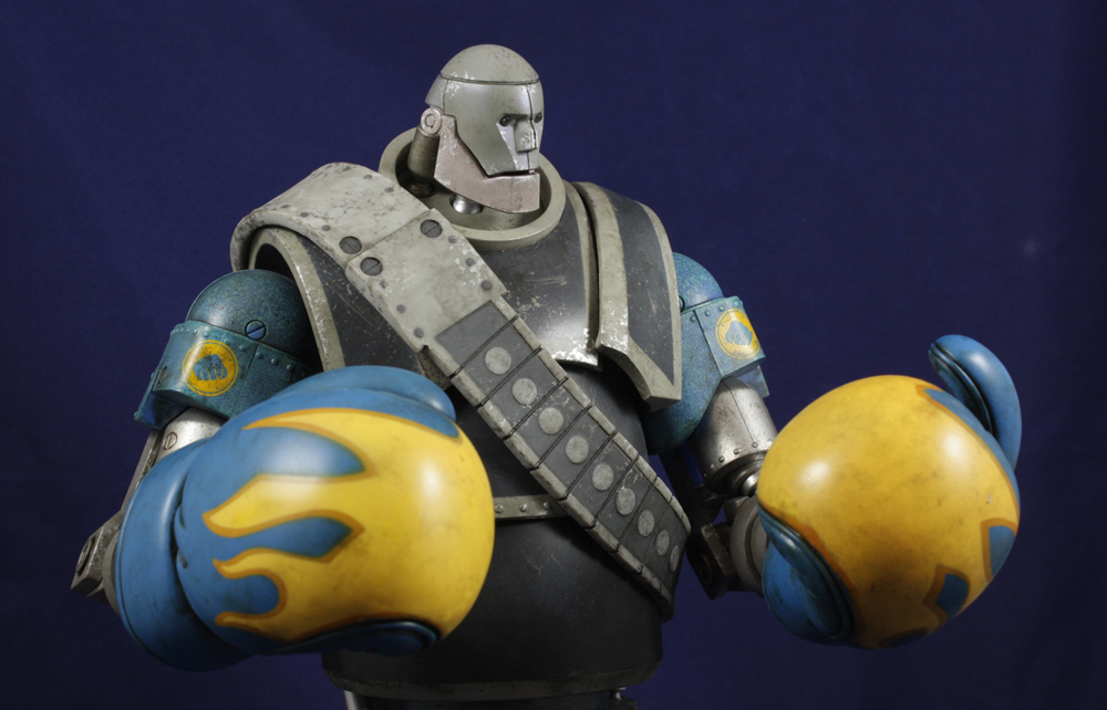 3A Team Fortress 2 1/6 Robot Heavy Review
