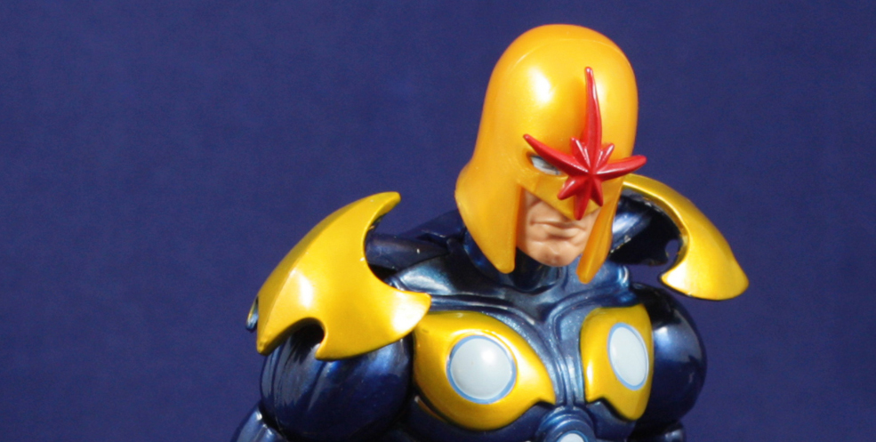 Guardians of the Galaxy Marvel Legends Nova Review