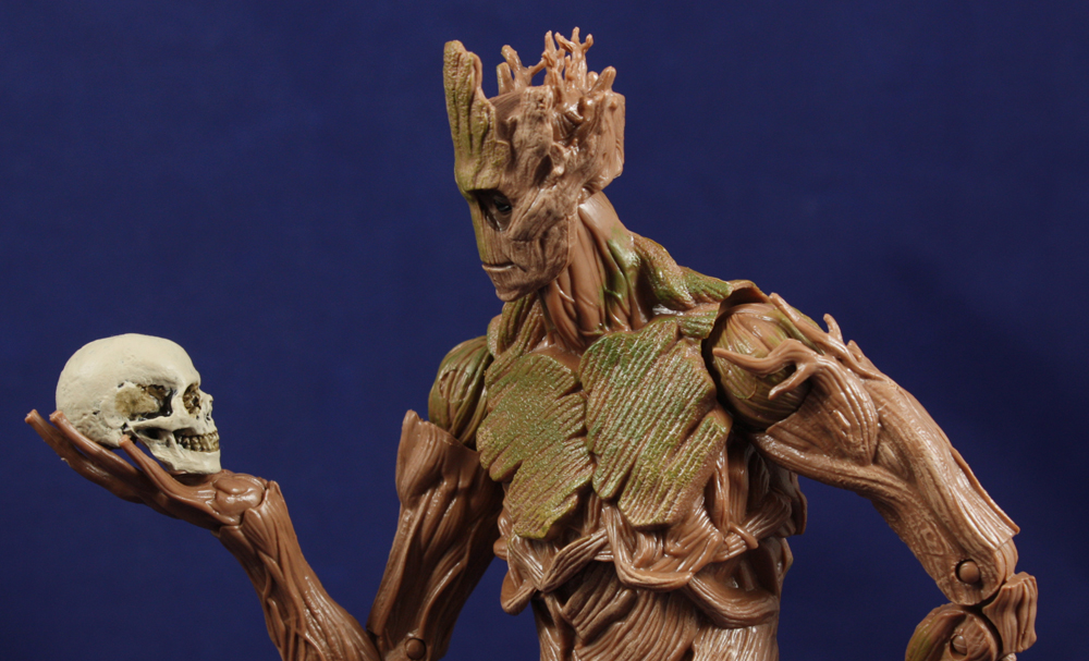 Guardians of the Galaxy Marvel Legends Groot BAF Review