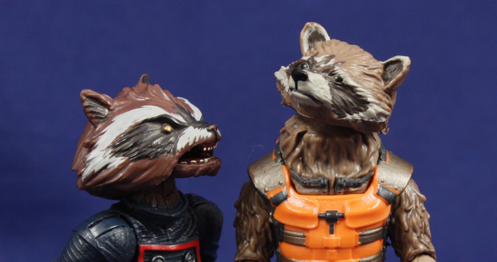 Guardians of the Galaxy Marvel Legends Rocket Raccoon Review
