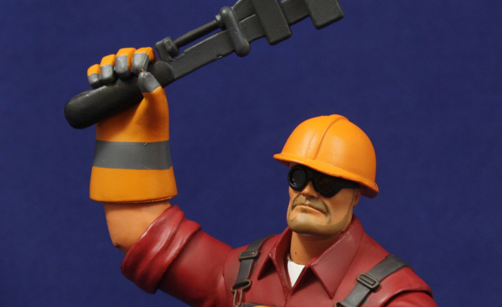 NECA TF2 Series 3 Engineer Review