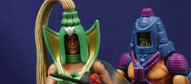 Mattel MOTUC Double Mischief (Double Trouble) Review