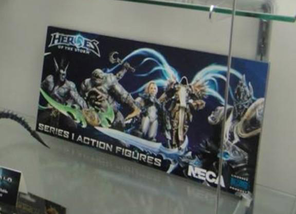 SDCC 2014: NECA Reveals Heroes of the Storm!