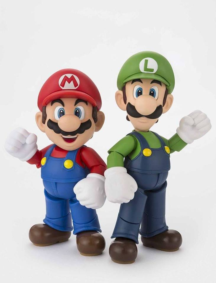 Preorders for S.H. Figuarts Luigi and Diorama Set C Live!