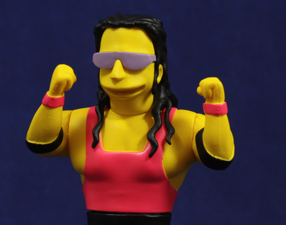 NECA Simpsons 25th Anniversary Wave 3 Bret Hart Review