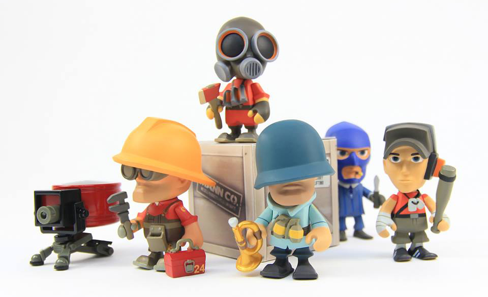Team Fortress 2 Portable Mercs Are Out!