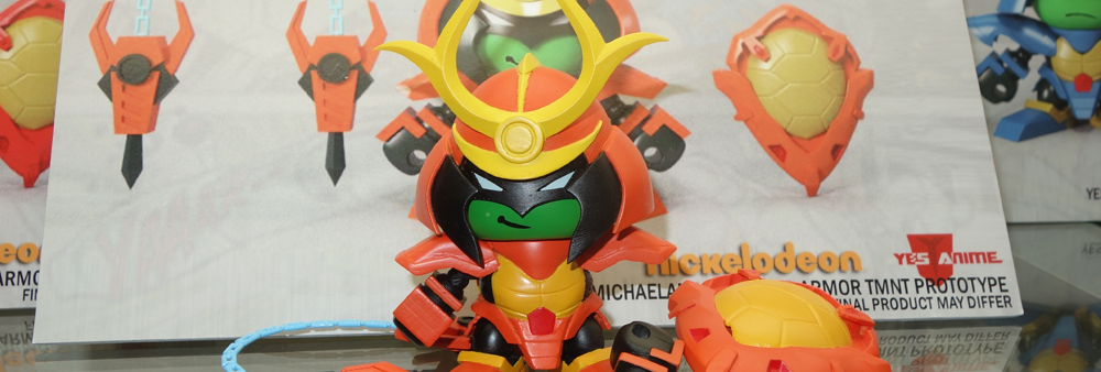 NYCC 2014: Yes Anime Super Armor TMNT