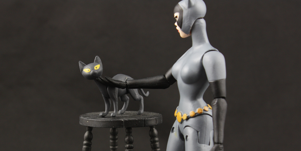 DC Collectibles Batman the Animated Series 04 Catwoman Review
