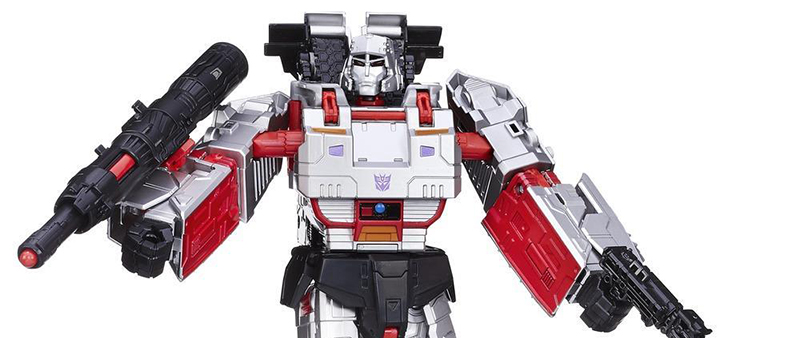 New Images of Leader Megatrons and Combiner Wars Motormaster