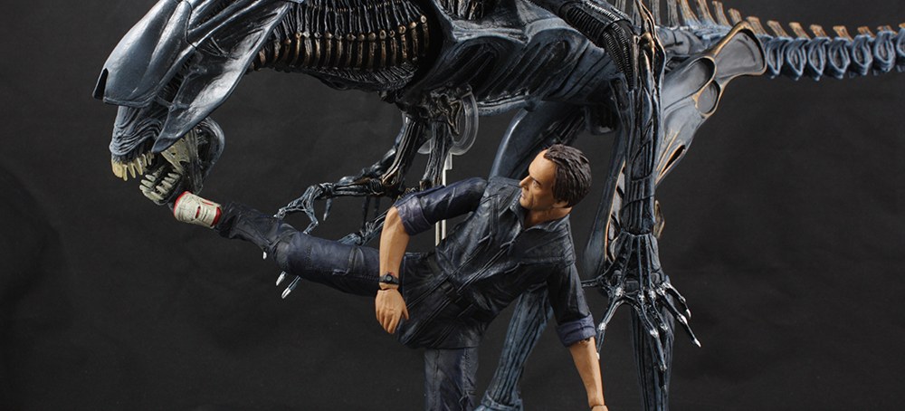 NECA Aliens S3 Bishop Review