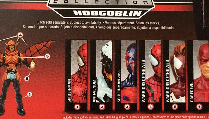 Marvel Legends Spider-Man Infinite Daredevil, Anti-Venom and more carded!