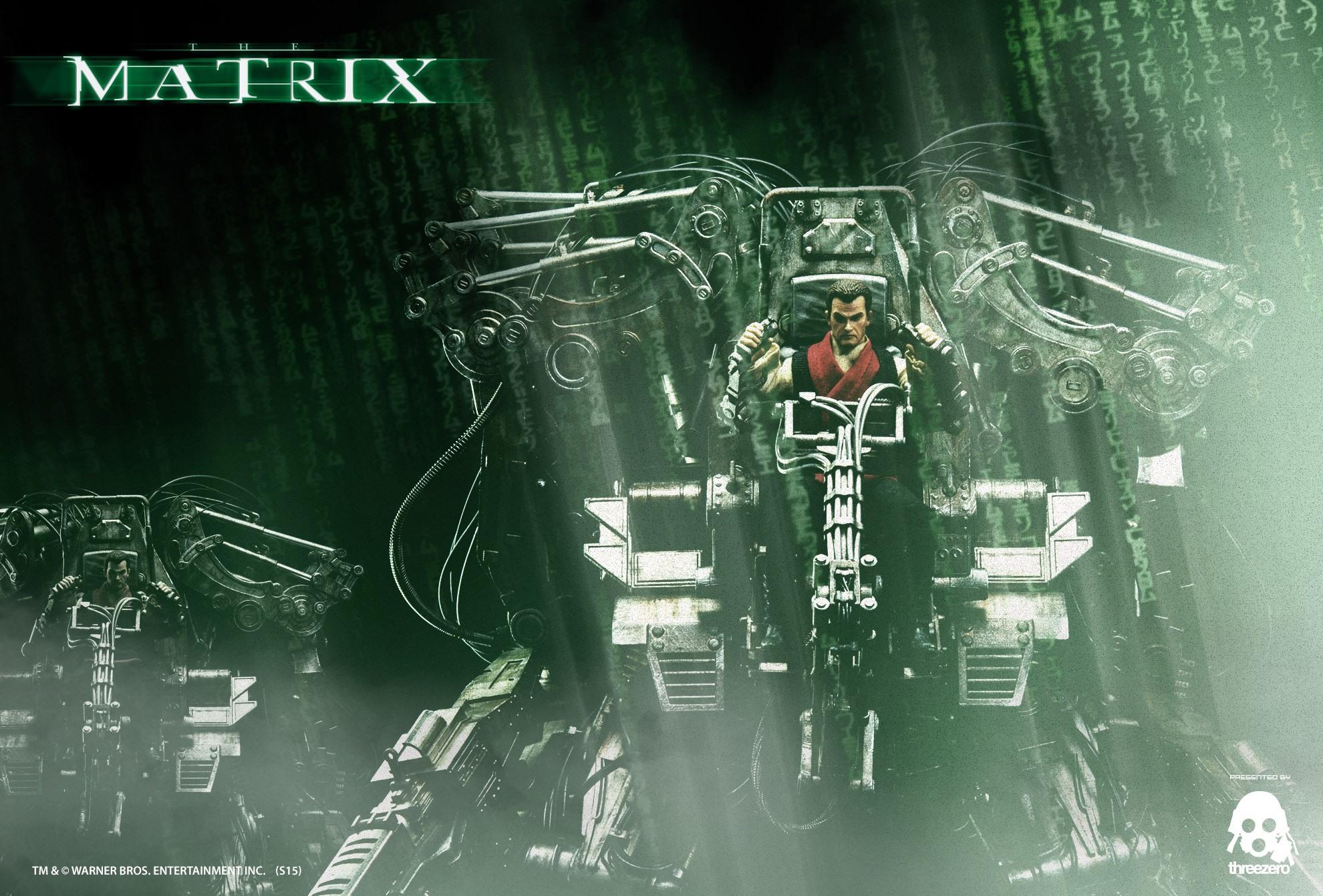 ThreeZero Teases The Matrix Figures!