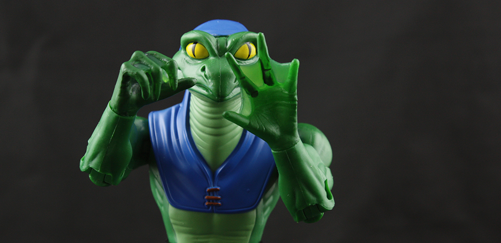 Mattel Masters of the Universe Classics Lizard Man Review