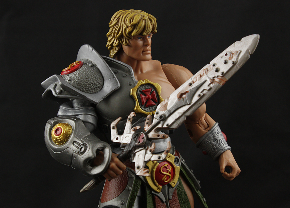 Mattel MOTUC Snake Armor He-Man vs King Hssss Review