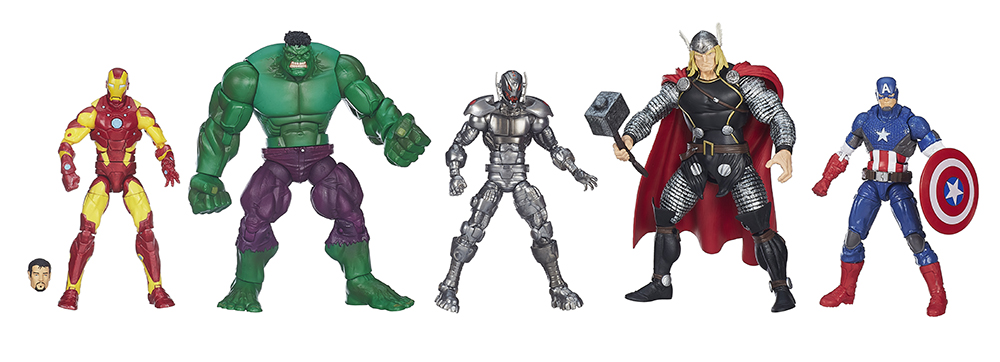 Marvel Legends: Official Press Shots of EU Disney 5-Pack