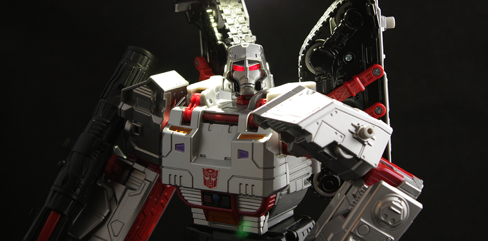 Transformers Combiner Wars Leader Class Megatron Review